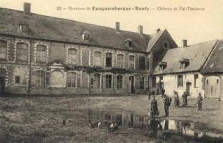 Chateau de val tencheux 1918